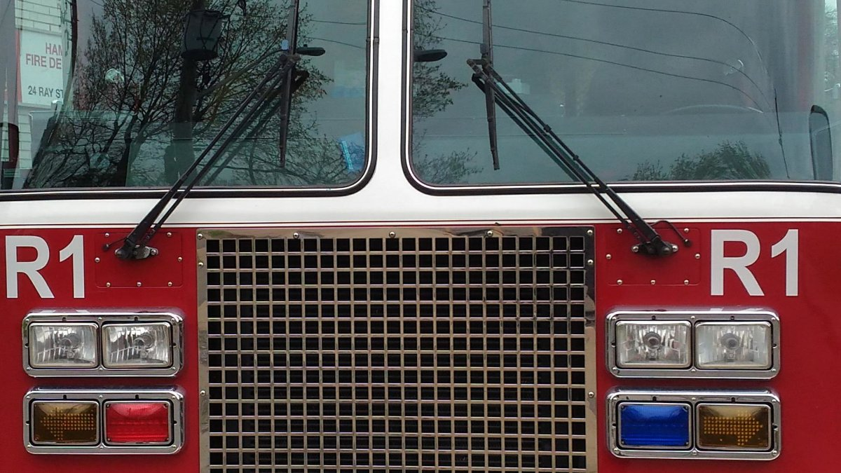 The Burlington Fire Department says a home sustained significant damage after a blaze started in a chimney on Sunday, March 8, 2020.