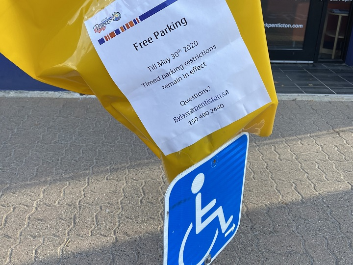 Penticton's decision to offer free parking follows what other cities across the nation are doing during COVID-19 pandemic.