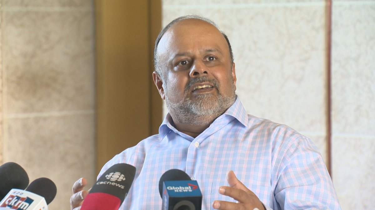 Dr. Saqib Shahab with province's ministry of health confirms there have been zero cases of the coronavirus in Saskatchewan.