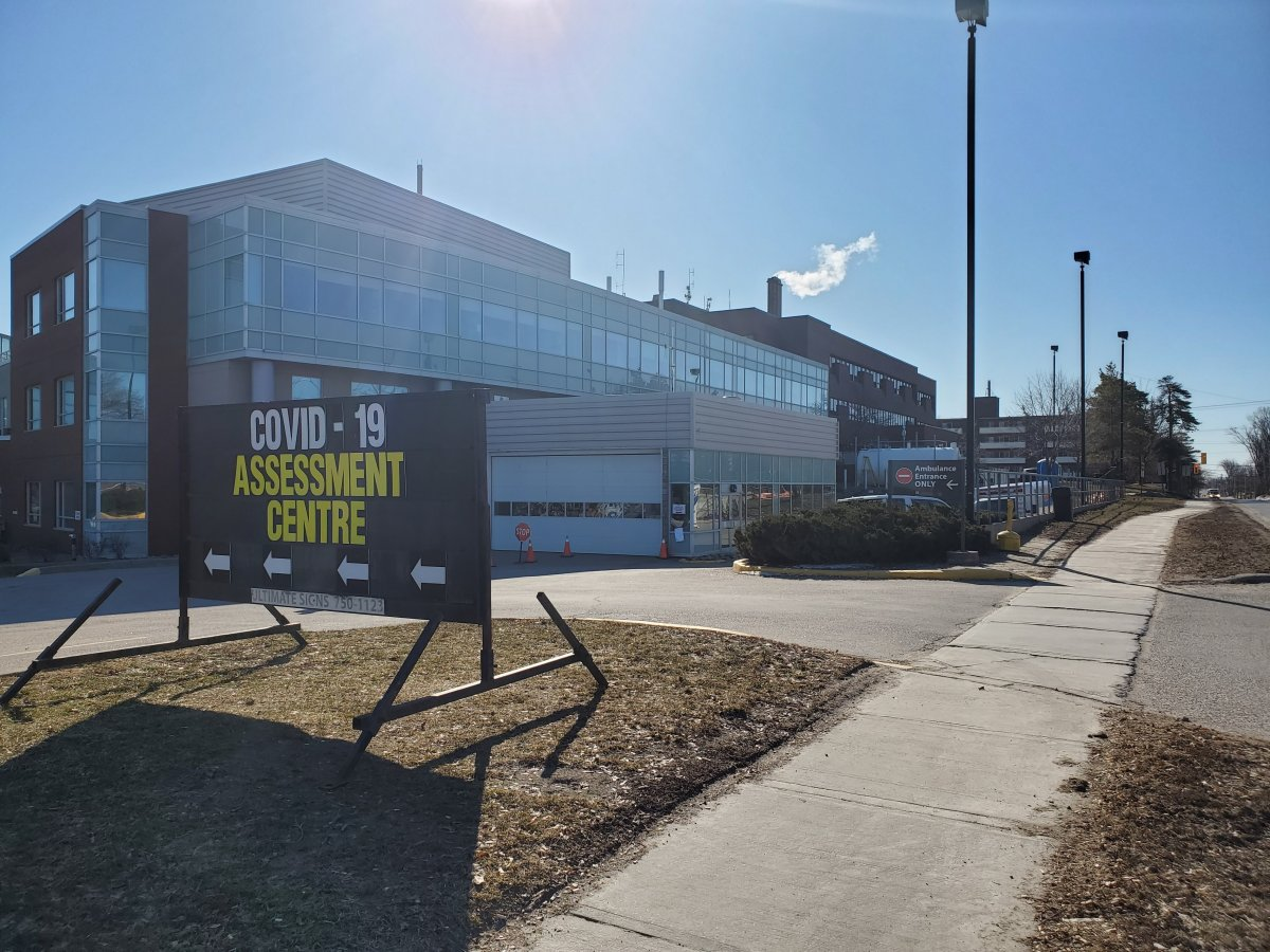 Ross Memorial Hospital in Lindsay, Ont., has opened a COVID-19 assessment centre.
