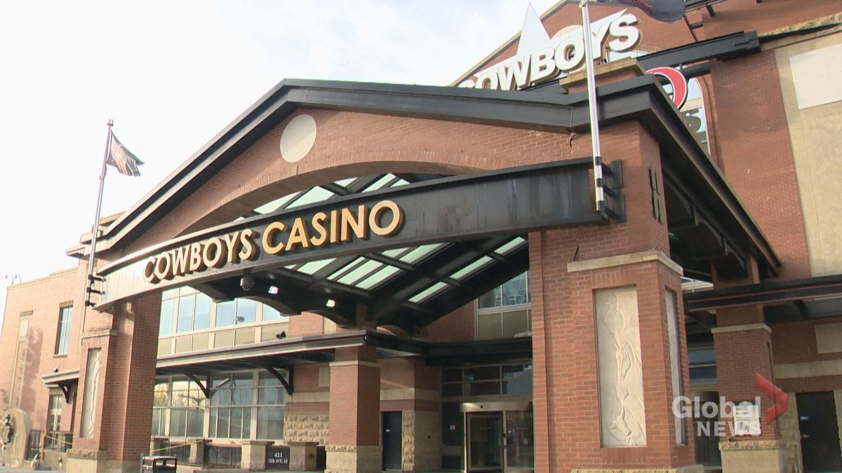 Cowboys Casino in Calgary is seen in this undated photo.