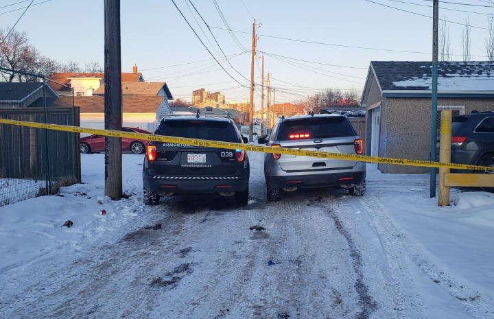 Homicide investigators have been called to an area in the northern part of downtown Edmonton after a person was taken to hospital, police said early Monday evening.