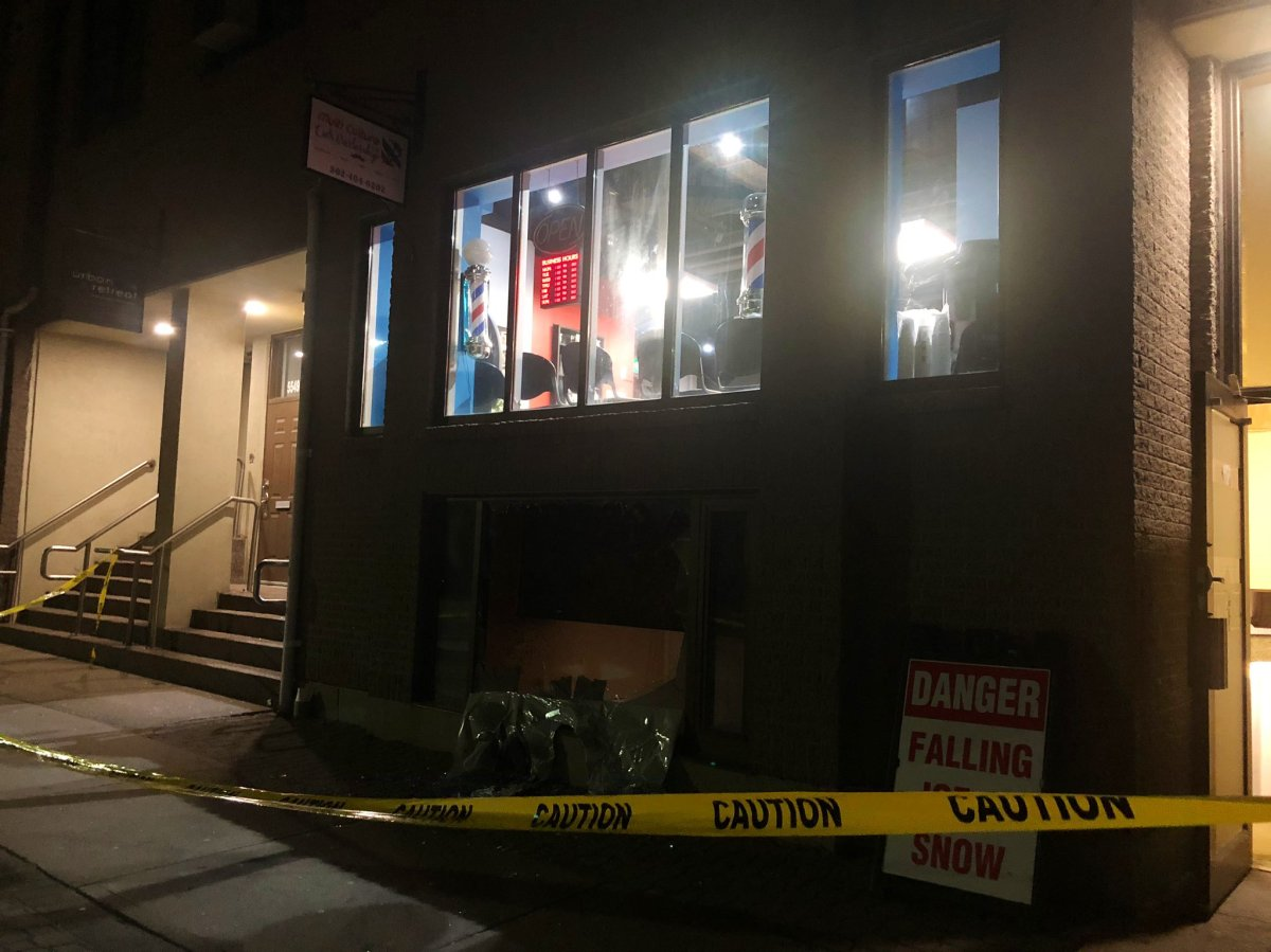Police are investigating a suspected arson at 5545 Clyde St. in Halifax.