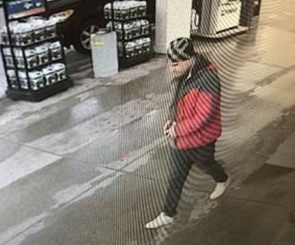 Guelph police released a photo of a man after counterfeit bills were used to purchase merchandise on Friday.