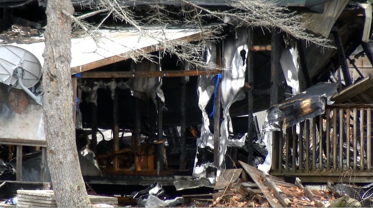 Two people died following a morning house fire in the City of Kawartha Lakes near Sebright on Wednesday.