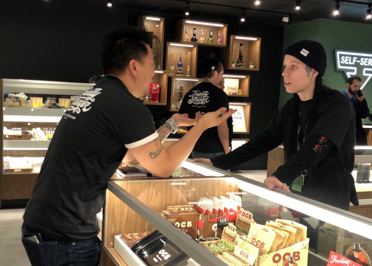 Friendly Stranger cannabis retail store opens in London, Ont., at 1135 Richmond St.