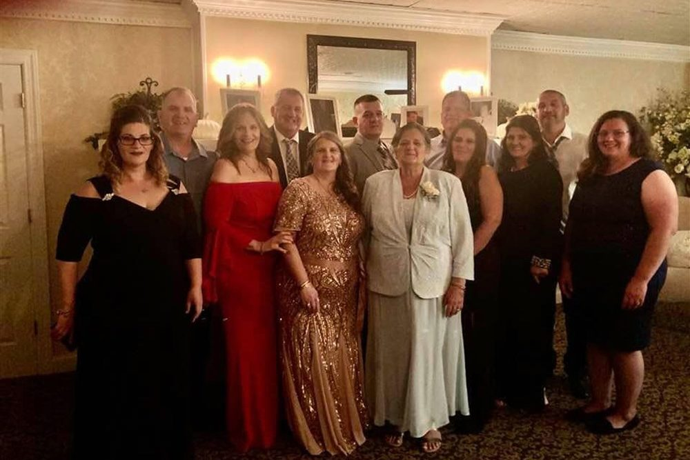 Members of the Fusco family are shown in this photo shared by a relative on Facebook.
