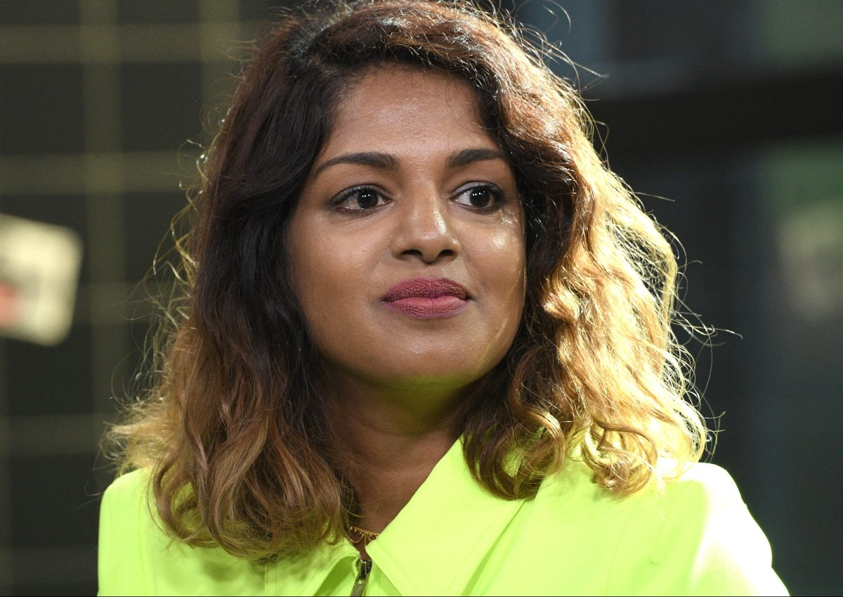 Musician and activist M.I.A. visits Build Series to discuss the documentary film 'Matangi/Maya/M.I.A.' at Build Studio on Sept. 27, 2018 in New York City.