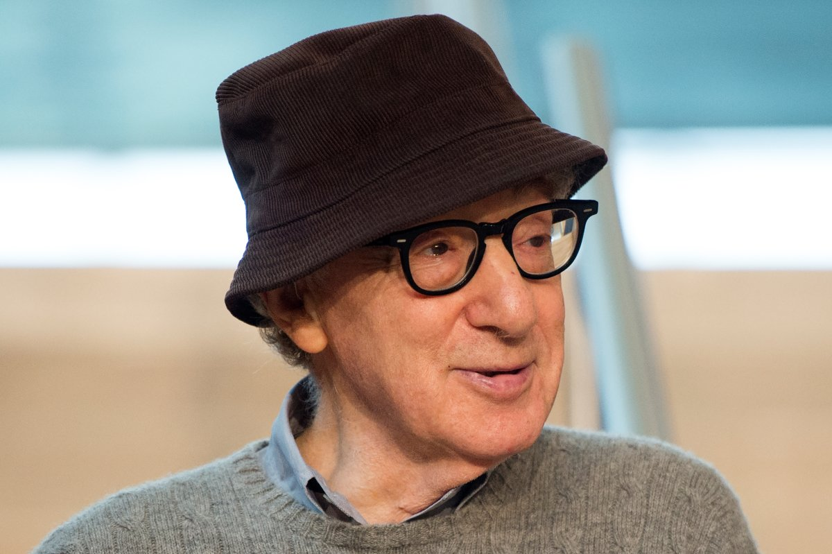 U.S. director Woody Allen poses during a photocall in the northern Spanish Basque city of San Sebastian, where he will start shooting his yet-untitled next film, on July 9, 2019.