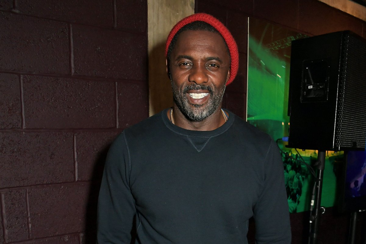"""Co-Creator Idris Elba attends the press night after party for """"Tree"""" at The Young Vic on August 1, 2019 in London, England."""