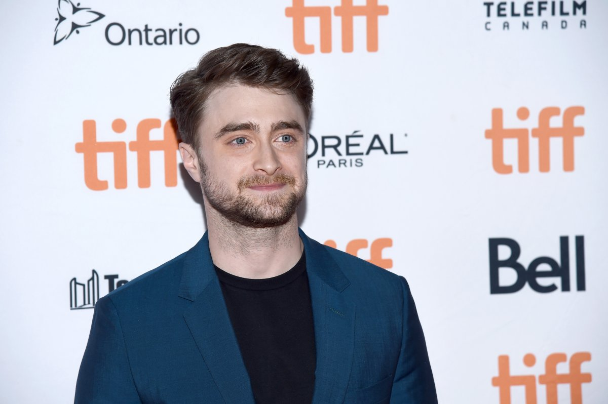 Daniel Radcliffe attends the 'Guns Akimbo' premiere during the 2019 Toronto International Film Festival at Ryerson Theatre on Sept. 9, 2019 in Toronto.