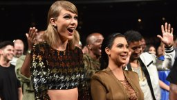 Continue reading: Kim Kardashian says Taylor Swift is 'lying' following leaked phone call