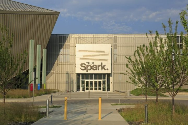 Calgary's Spark science centre, located at 220 Saint George's Dr. N.E.