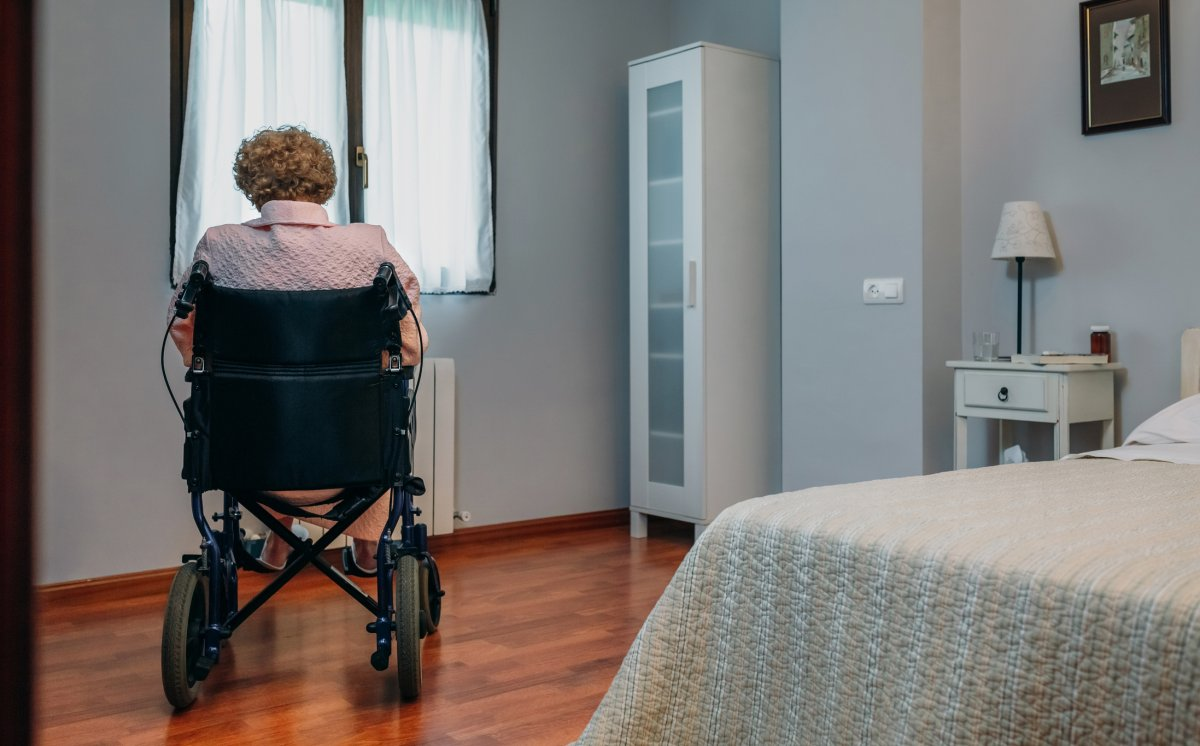 Self-isolation can be especially difficult for those in long-term care.