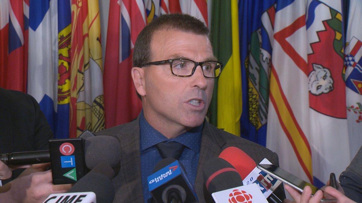 Saskatchewan Minister of Highways Greg Ottenbreit.