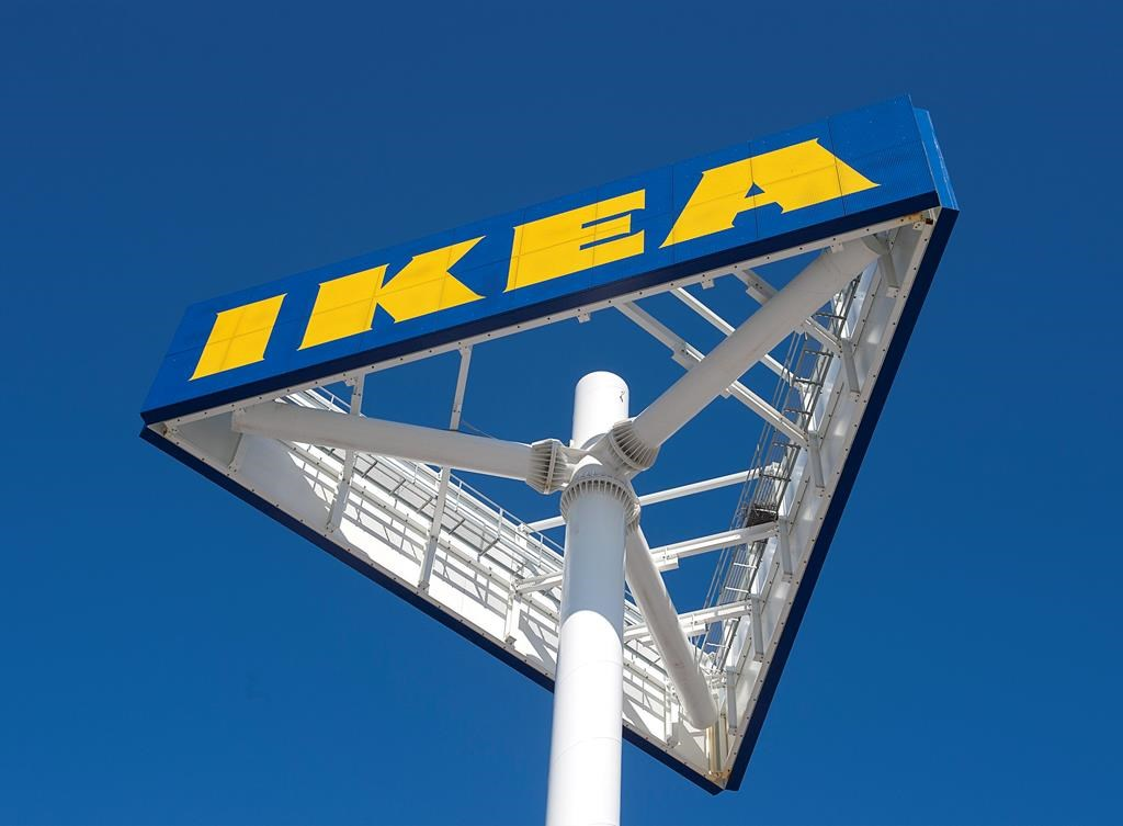 File photo of an IKEA sign.