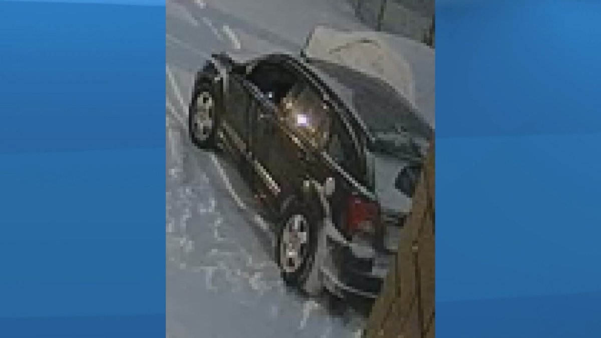 Calgary police are looking for a car they believe was involved in a homicide on Saturday, March 14, 2020.
