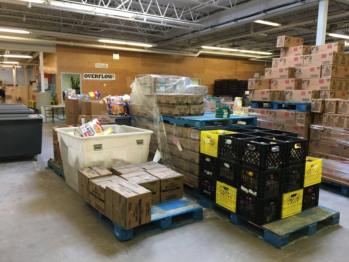 Winnipeg Harvest is receiving over $414,000 worth of food to distribute to hungry Manitobans.