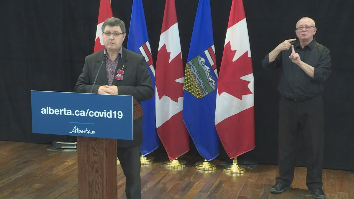Rick Wilson, Alberta's minister of Indigenous relations, said Saturday he is working directly with chiefs around the province throughout the COVID-19 crisis to ensure the right supports are in place.