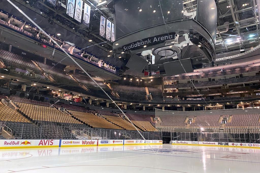 Scotiabank Arena.