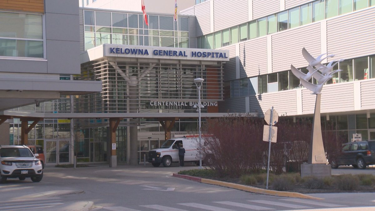 The BC Nurses' Union says personal protective equipment is locked up at Kelowna General Hospital at night.