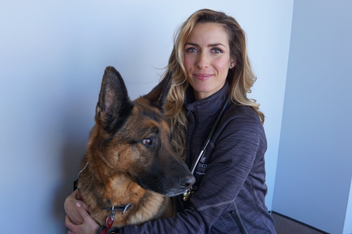 Dr. Lorenza Malaguti the medical director at the McKnight 24  Hour Veterinary Hospital is reassuring Calgarians that essential services for pets will continue during the COVID-19 pandemic.