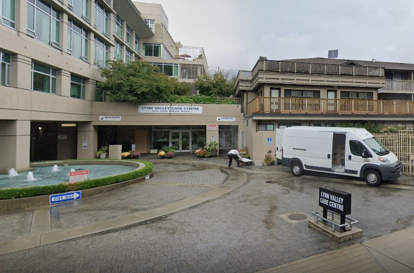 The Lynn Valley Care Centre in North Vancouver, where multiple cases of COVID-19 have been identified.