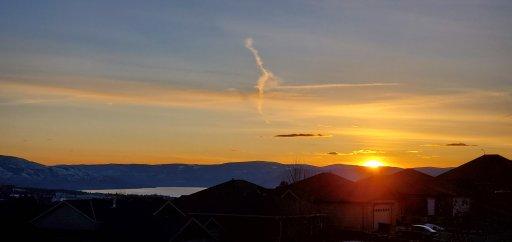Okanagan sunset – Robert Roggensack