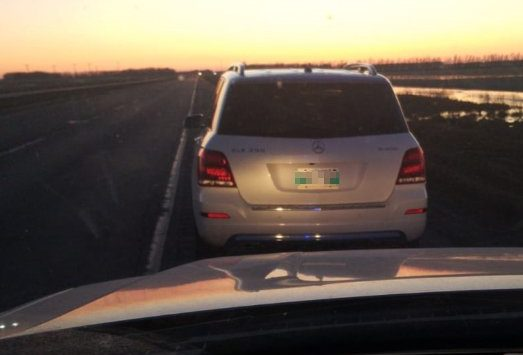 This driver was handed over $1,100 in fines for various offences.