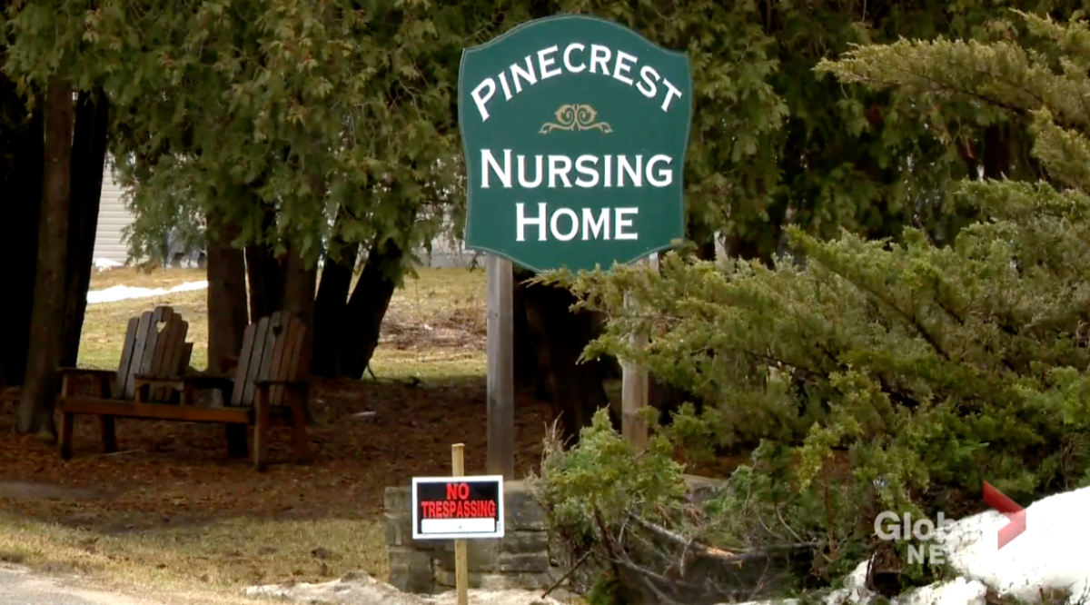20 residents have died at the Pinecrest Nursing Home in Bobcaygeon, Ont., the facility's medical doctor reported Friday.