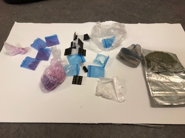 Police seized close to $60,000 of drugs connected to an incident in Central Hamilton on the afternoon of Sunday March 29, 2020.