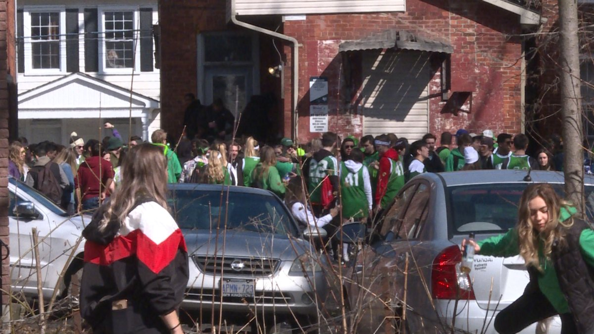 KFL&A Public Health says anyone hosting a gathering with more than five people can be fined $5,000 a day over the St. Patrick's Day week.