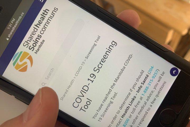 Coronavirus Manitoba Launches Online Covid 19 Screening Tool Q107 Toronto