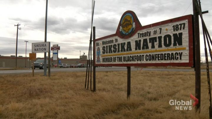 On Saturday, the Siksika Nation said there were 11 active cases in the community, one more than was reported Friday.