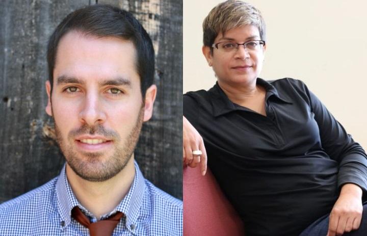 Maxwell Smith, left; and Anita Kothari, right.