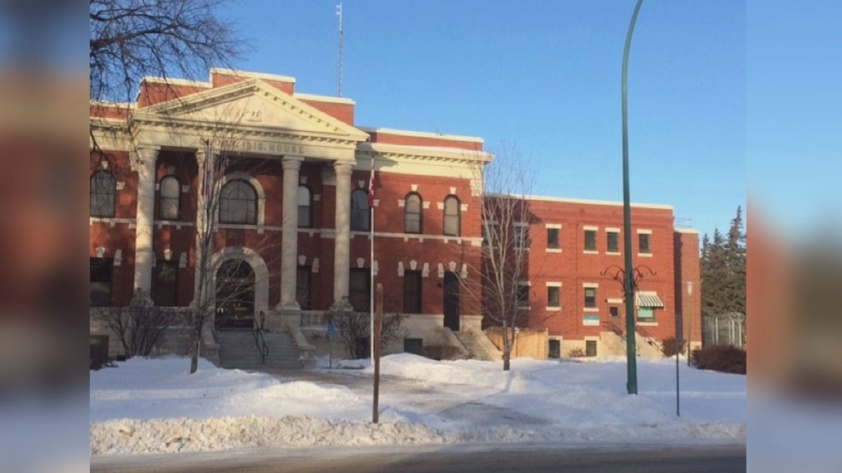 Dauphin courthouse building.