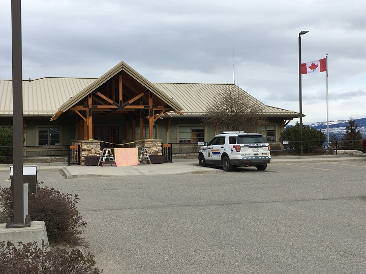 West Kelowna RCMP says a suspicious package that was found in front of a local business on Monday morning was determined not to be a threat to the public.