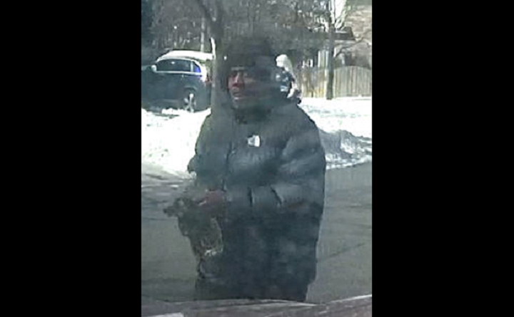 Police released this photo of a suspect wanted in connection with the fire.