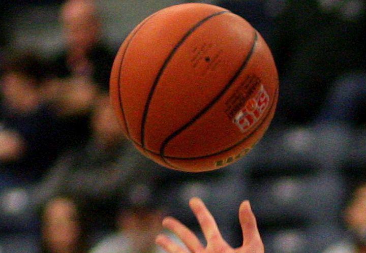 A file photo of a basketball.