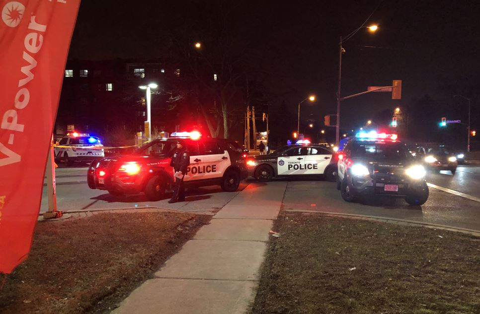 The shooting happened just after 10 p.m. on Wednesday.