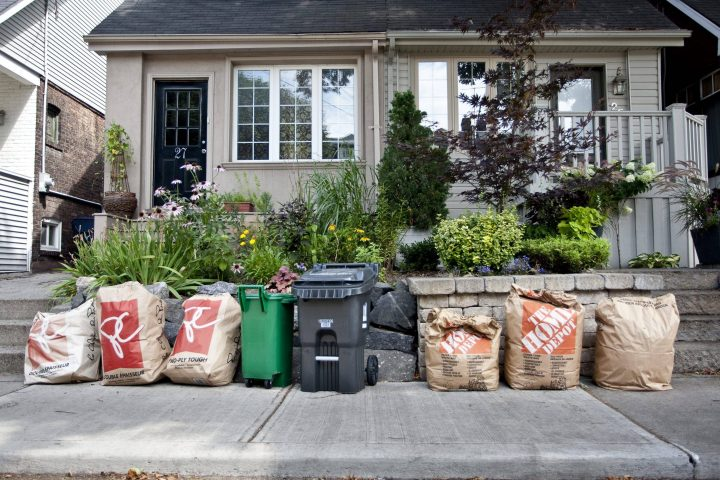 The City of Toronto will continue picking up yard waste until May 1.