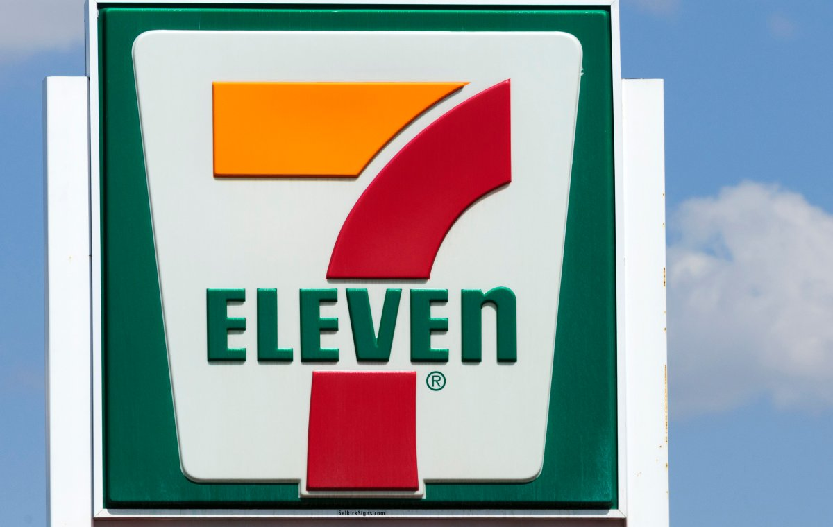 Signage for a 7-Eleven convenience store in Calgary, Alta., in 2013.