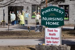 Continue reading: Coronavirus: Residents at Pinecrest Nursing Home in Bobcaygeon 'doing well' following deadly outbreak