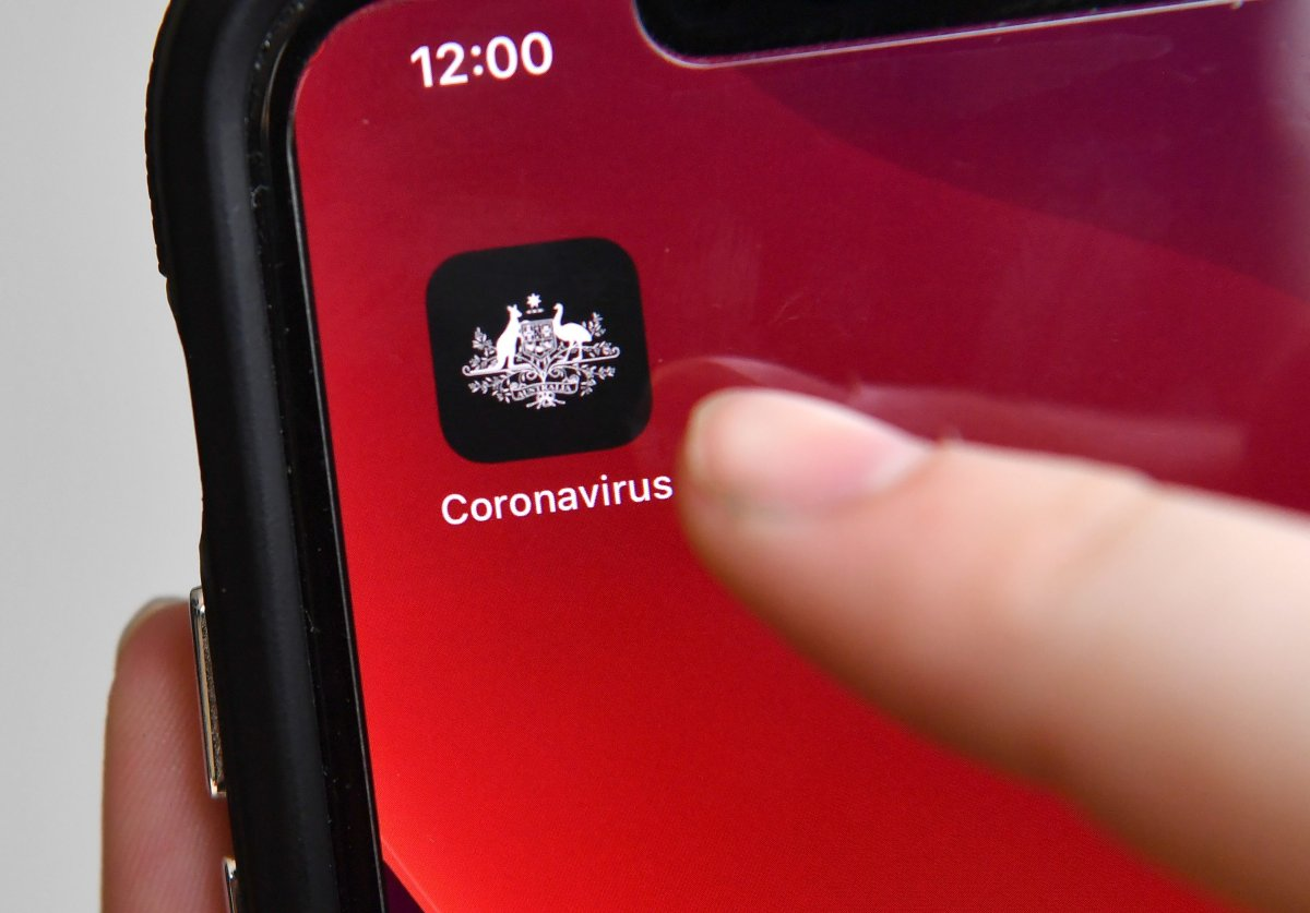 The Australian government's coronavirus tracing app would track and use data from people's phones to inform health authorities of close contact with confirmed COVID-19 cases.