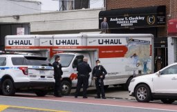 Continue reading: Police investigate New York City funeral home that stored bodies in trucks: officials