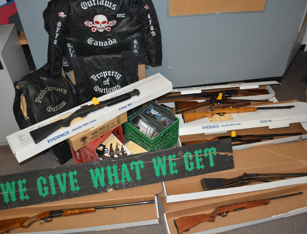A man and a woman were arrested in Bancroft, Ont., following a search warrant in the town.