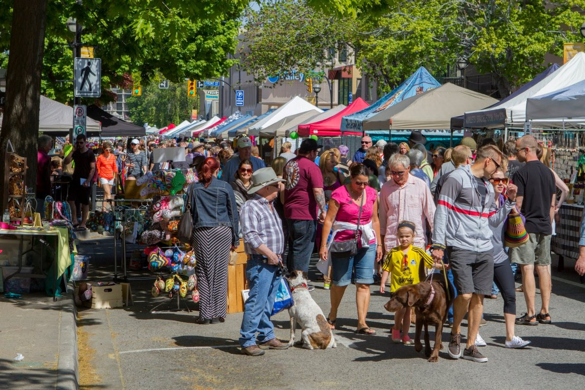 – Faced with the ongoing threat of COVID-19 spreading at large public gatherings, the Downtown Penticton Association has cancelled the 2020 season of their weekly market.