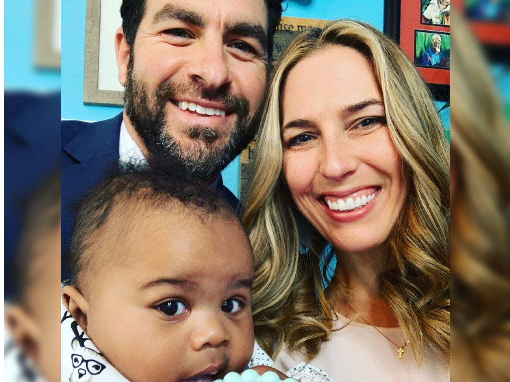Casey and Laura Wieck finalized their adoption of baby James via Zoom due to social-distancing rules amid the COVID-19 crisis.