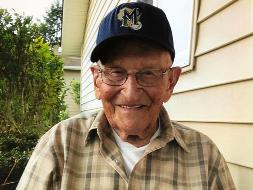 A WWII veteran recovered from COVID-19 just in time to celebrate his 104th birthday in Oregon on April 1.