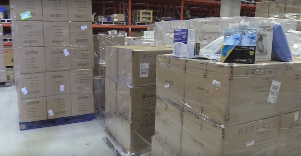 Bruce Power is donating 1.2 million pieces of personal protective equipment to front-line health-care workers during the coronavirus pandemic.